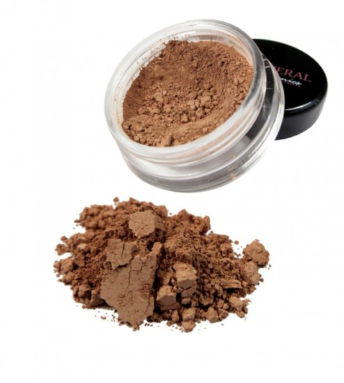 Dark Tan Mineral Foundation - Click Image to Close