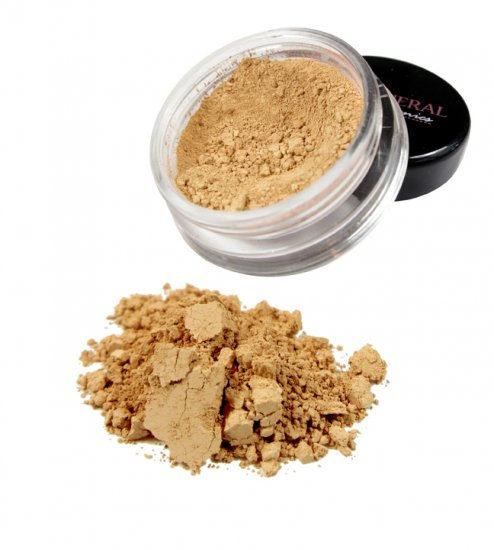Medium Golden Mineral Foundation - Click Image to Close
