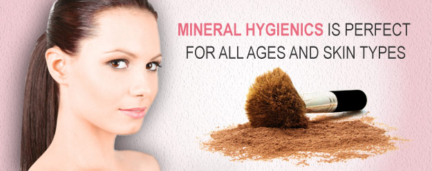 Mineral Hygienics is perfect for all ages and skin types