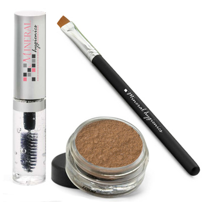 Mineral Brow Starter Kit - Golden Oak - Click Image to Close