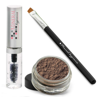 Mineral Brow Starter Kit - Suede - Click Image to Close