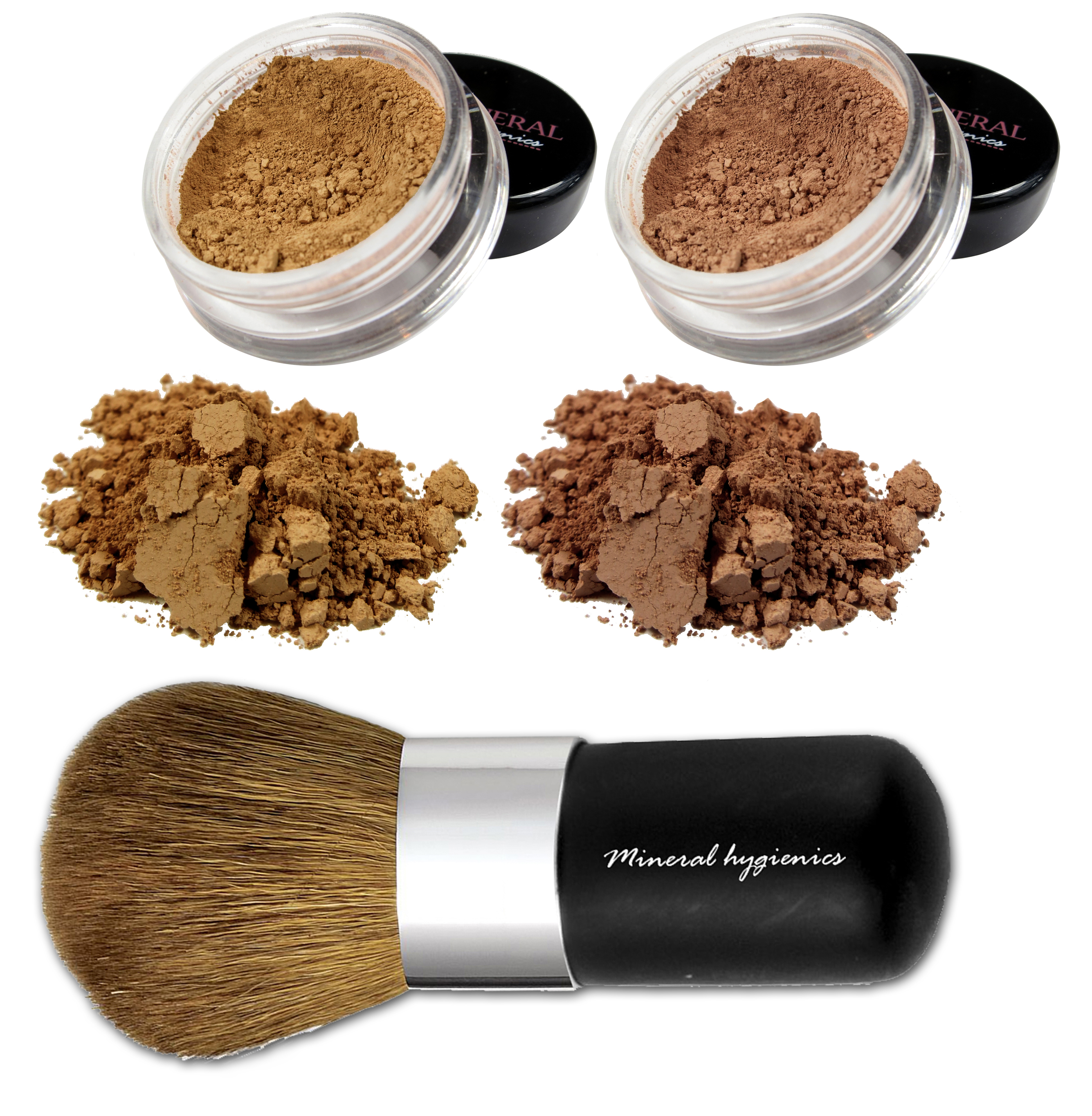 Mineral Makeup Starter Kit - Warm Mini